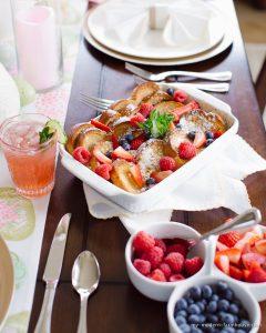 French Toast Bake for Easter Brunch