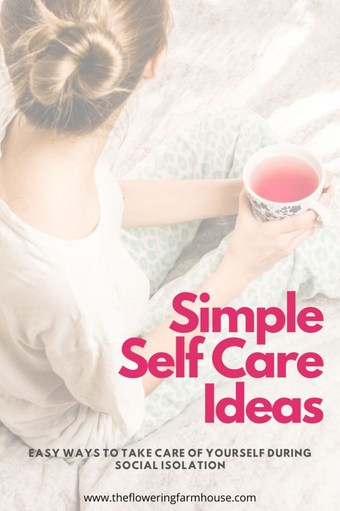 simple self care ideas