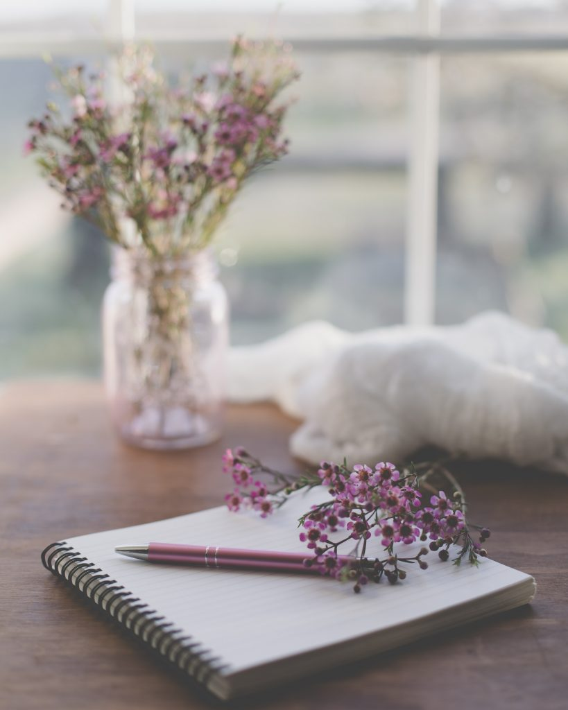 journaling as a self care option