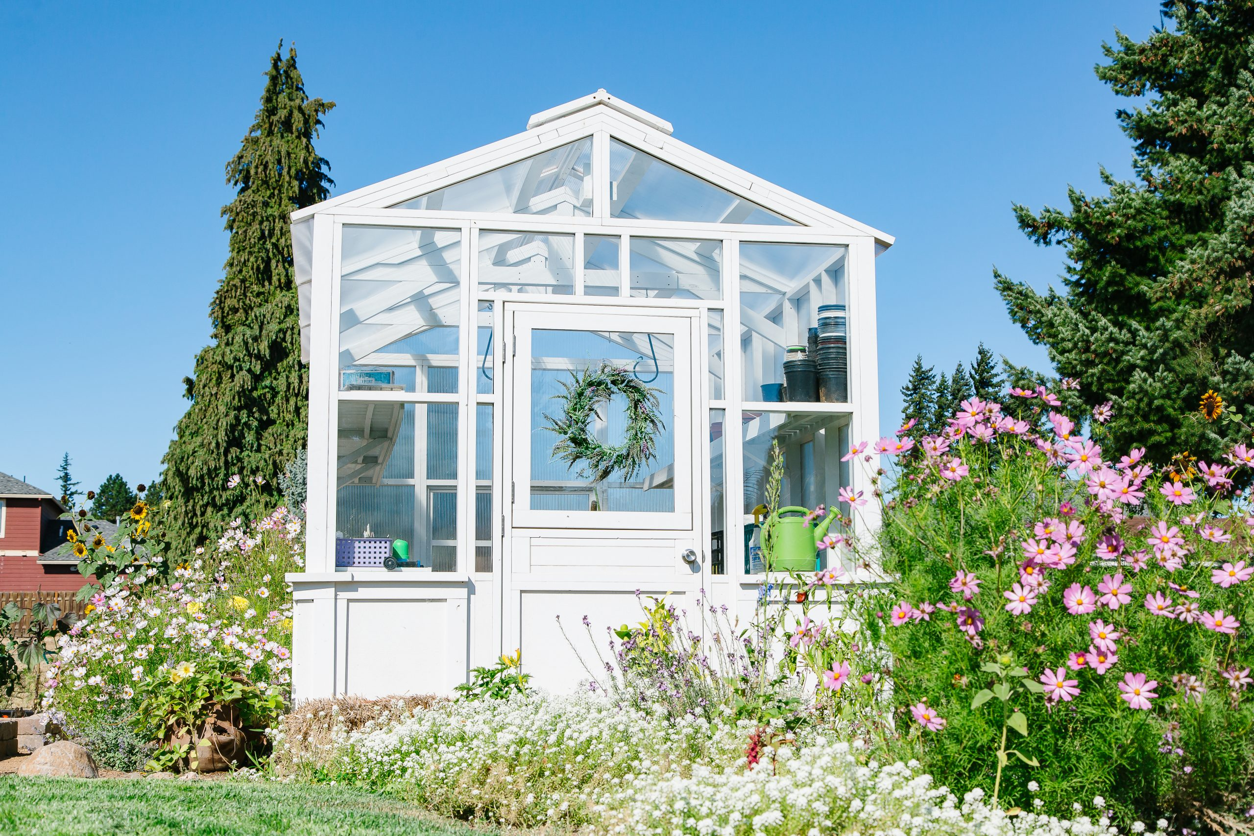 Greenhouse Inspiration For Your Backyard