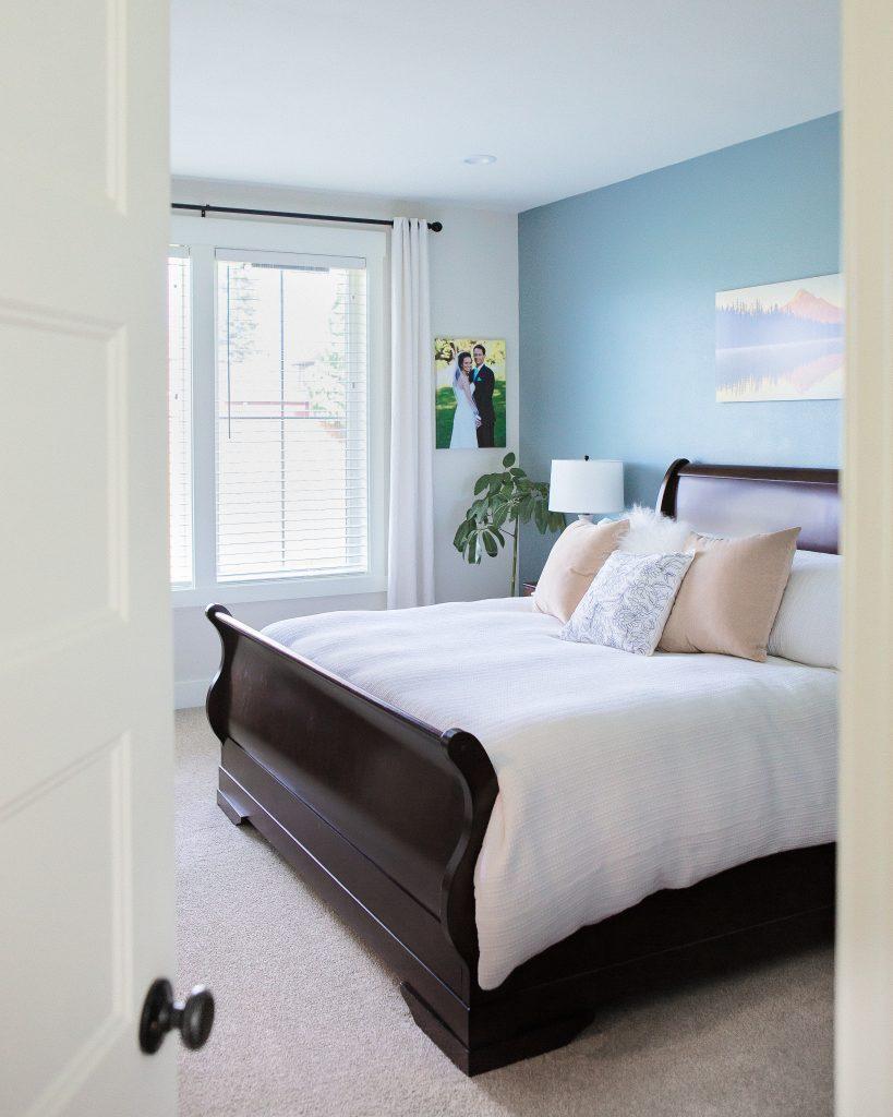 window coverings in bedroom