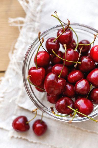 photo of bowl of cherries