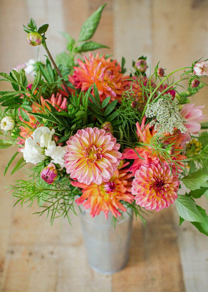 dahlia c.s.a. bouquet