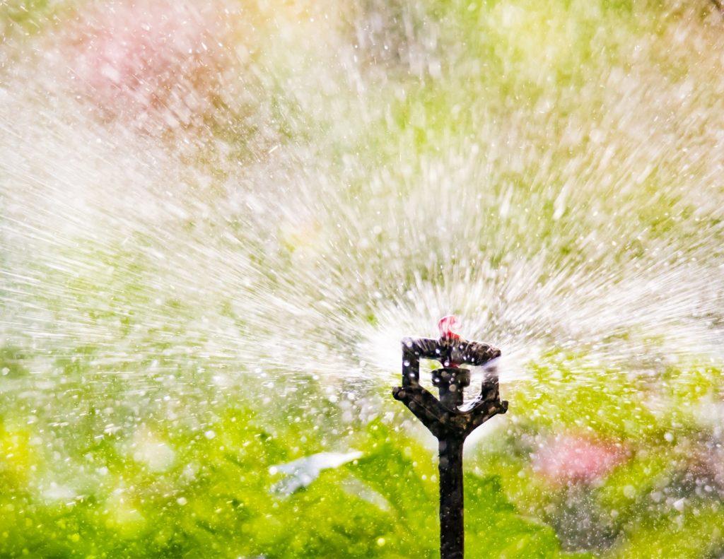 garden irrigation sprinkler