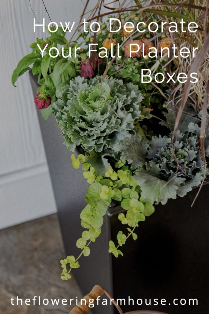 fall planter box