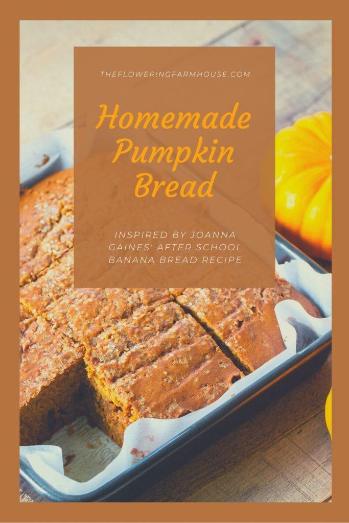 butterscotch pumpkin bread