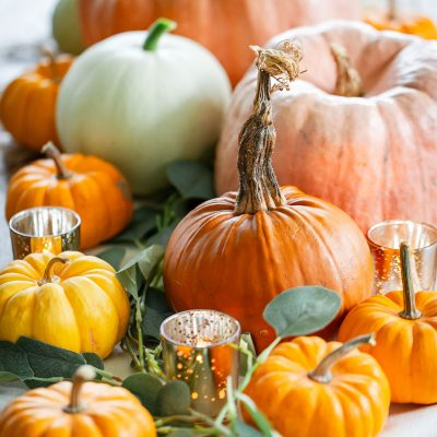 Simple DIY Thanksgiving Tablescape